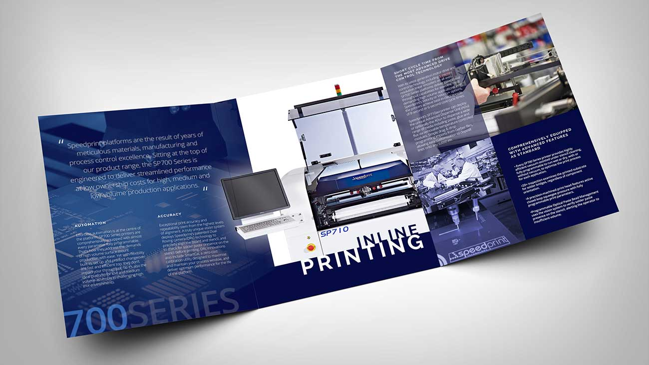 Speedprint Brochure Spread