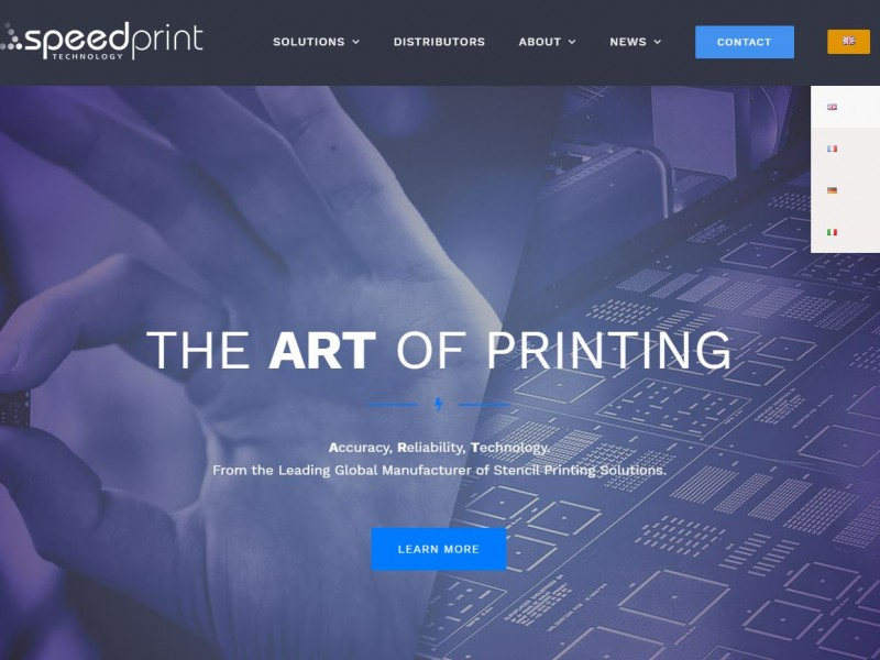 Speedprint website